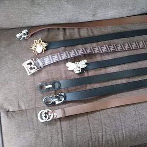 Designer belts: